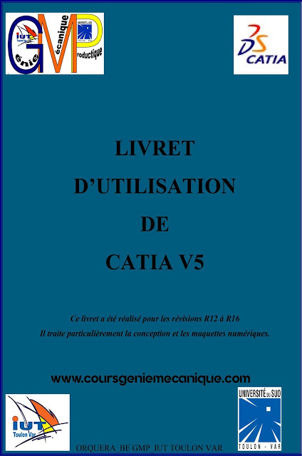 Guide d'utilisation de CATIA V5 en pdf