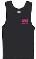 Singlet Printing who is the man pink hat
