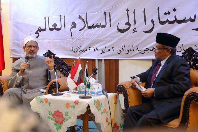 Grand Syekh Al-Azhar: Jangan Monopoli Kebenaran