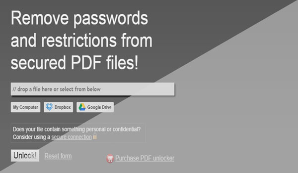 Cara Mudah Membuka Proteksi File PDF Yang di Password Secara Online