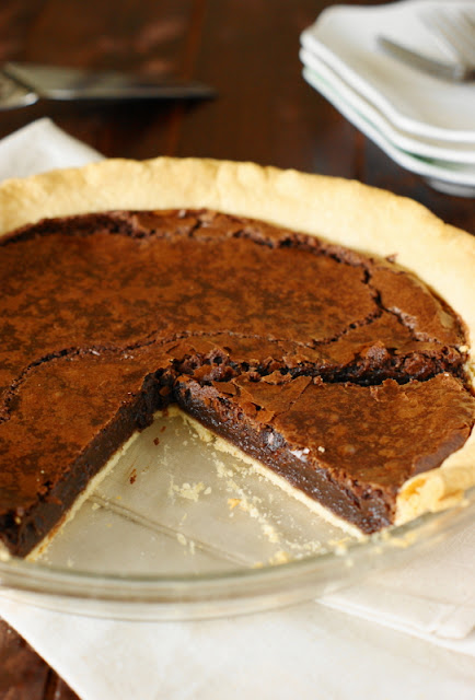 Chocolate Fudge Pie image