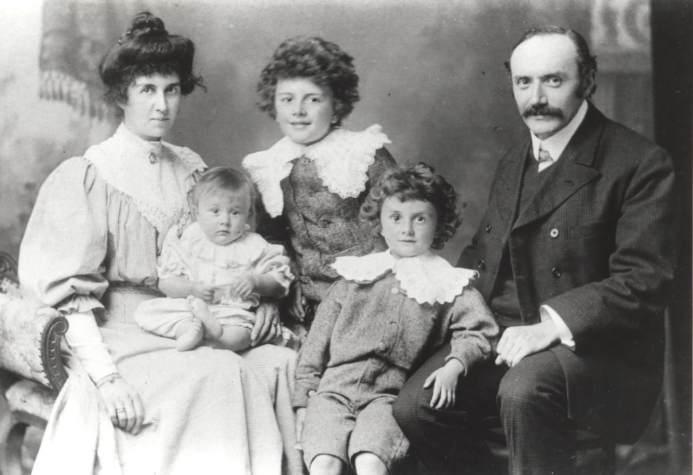 paul dirac family