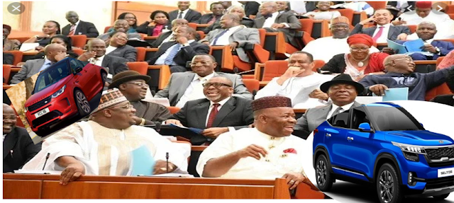 Nigerian Senators budget Billions for Cars