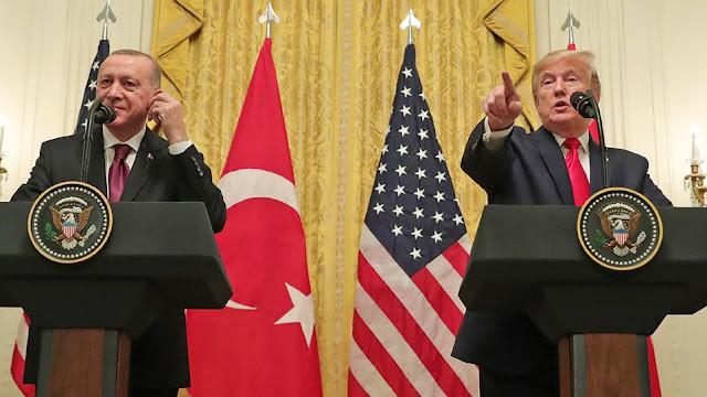 Τα παράδοξα της συνέντευξης Τύπου Τραμπ-Ερντογάν