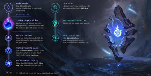 Đây là bảng ngọc giúp cường điệu hóa sức mạnh của Morgana
