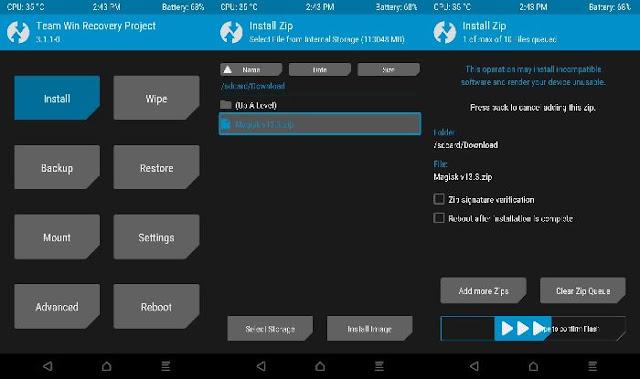 Cara Root Dan Install TWRP Redmi 5 Rosy Terbaru