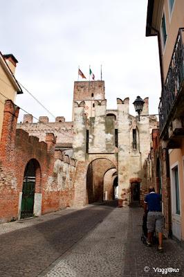 Porta Bassano è la porta a Nord di Cittadella