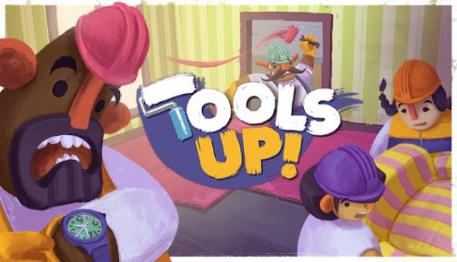 Tools Up! this is a cooperative game focused on home renovation.