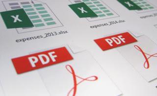 Logo Blog Post Menyimpan File Excel Menjadi PDF