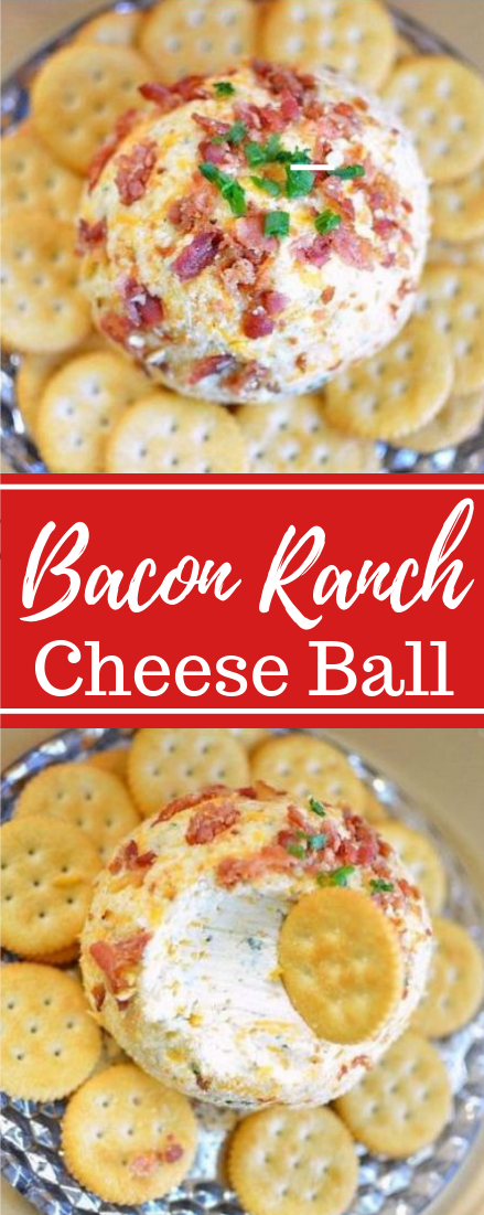 Bacon Ranch Cheese Ball #healthyfood #dietketo