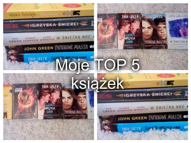Moje TOP 5 książek