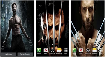 Fondos en HD Wolverine Live Wallpaper