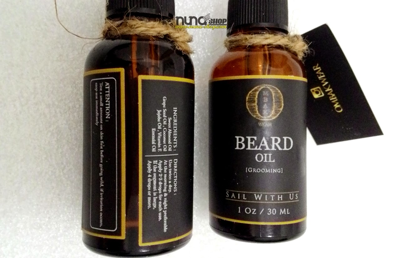 Ombak Beard Oil Review - Penumbuh Jenggot Super Cepat 2015