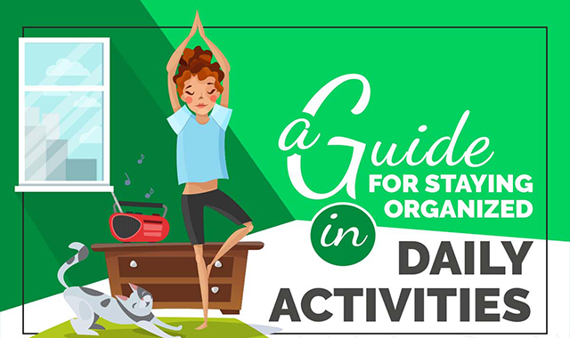 A Guide for Staying Organized in Daily Activities