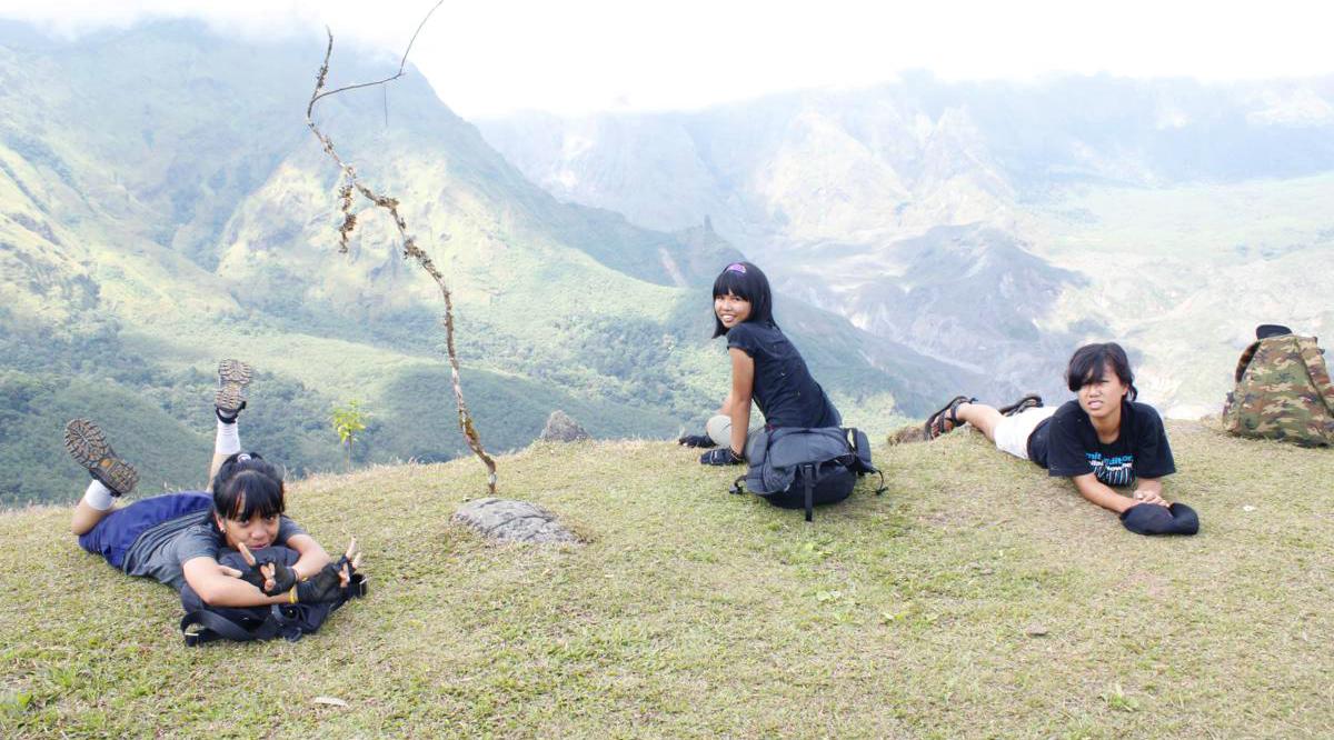 cewek manis di Lembah Ramma (1600 mdpl) - Sulawesi Selatan