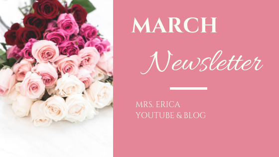 March Monthly Newsletter