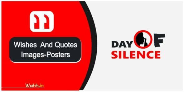 Day of Silence Quotes In Hindi