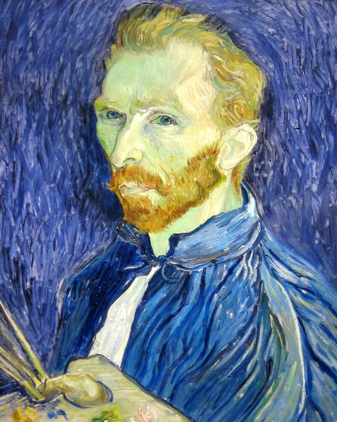 Vincent Van Gogh Paintings Self Portrait