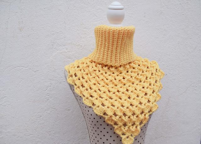 5 -Crochet Imagen Cuello Japonés a crochet y ganchillo por Majovel Crochet
