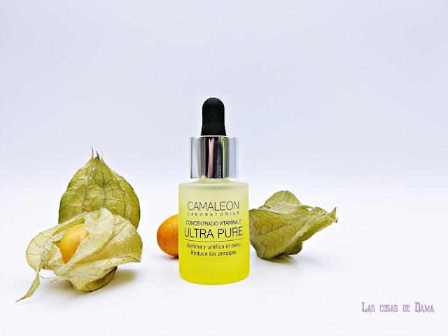 vitamina c kosei glow beauty skincare belleza cosmética dermocósmetica cuidado facial Camleón antimanchas iluminador