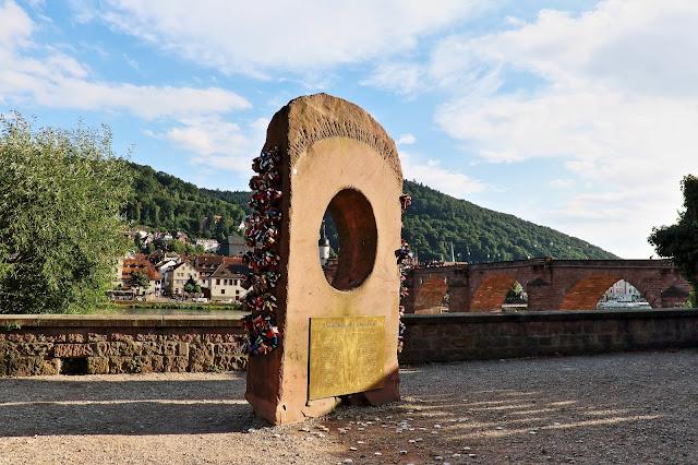 Heidelberger Liebesstein in Heidelberg