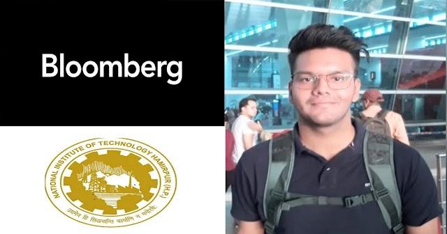 NIT हमीरपुर के छात्र ने रचा इतिहास: अमेरिकी कंपनी ने दिया 1.51 करोड़ का सालाना पैकेज