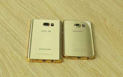 Samsung galaxy note 5 vàng gold chính hãng