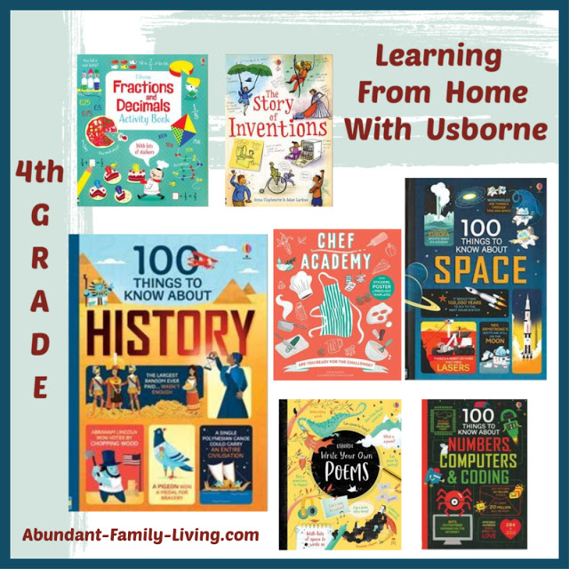 Learning at Home With Usborne - 4th Grade