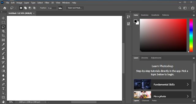 برنامج  Adobe Photoshop 2020 v21.2.2.289 للتعديل على الصور باحترافية