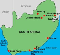 Map Of Durban South Africa | Africa Map