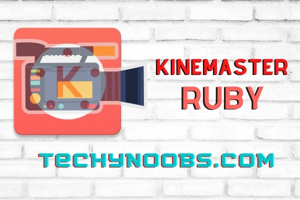 KineMaster Ruby Mod Apk Free Download Pro Version Video Editor