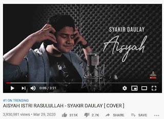 Syakir Daulay Lagu Aisyah Istri Rasulullah Trending