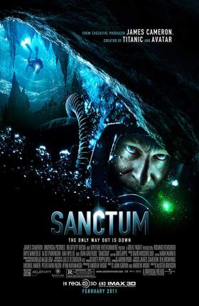 Sanctum 2011 Dual Audio Hindi 750MB BluRay 720p