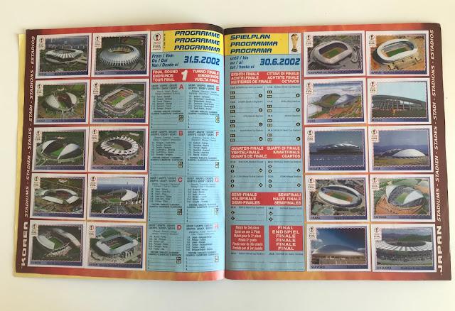 Figurine Stadi Korea e Giappone 2002