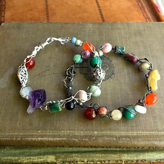 Fairy ring bracelets by Laura Love Emmaus PA
