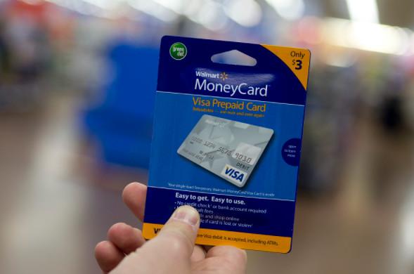 WalMart Prepaid Visa