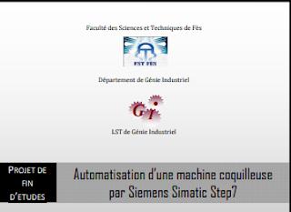 Automatisation d'une machine coquilleuse par Siemens Simatic Step7