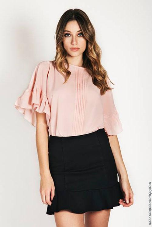 Moda 2018. Blusas de fiesta moda verano 2018 mujer.