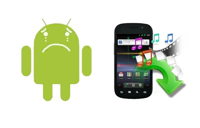 أفضل أربعة تطبيقات لاسترجاع ملفاتك وصورك وفيديوهاتك على هاتفك حتى بعد الفورمات💪