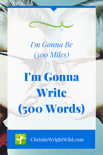 500 Steps to Get Published | writing humor | productivity for writers | author goals