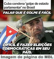 Cuba não reconhece governo Temer porque Fidel é anti-democracia