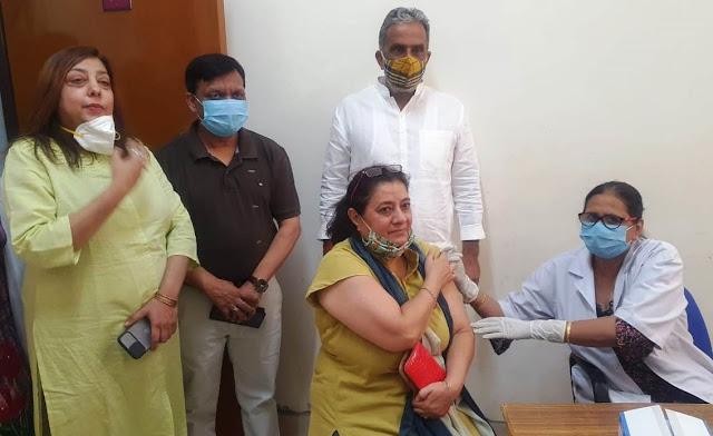 कोरोना वैक्सीनेशन अभियान में प्रतिभागिता कर कोरोना का टीका जरूर लगवायें : कृष्ण पाल