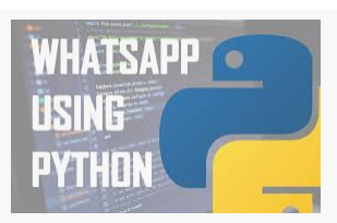 Send whatsapp message using python