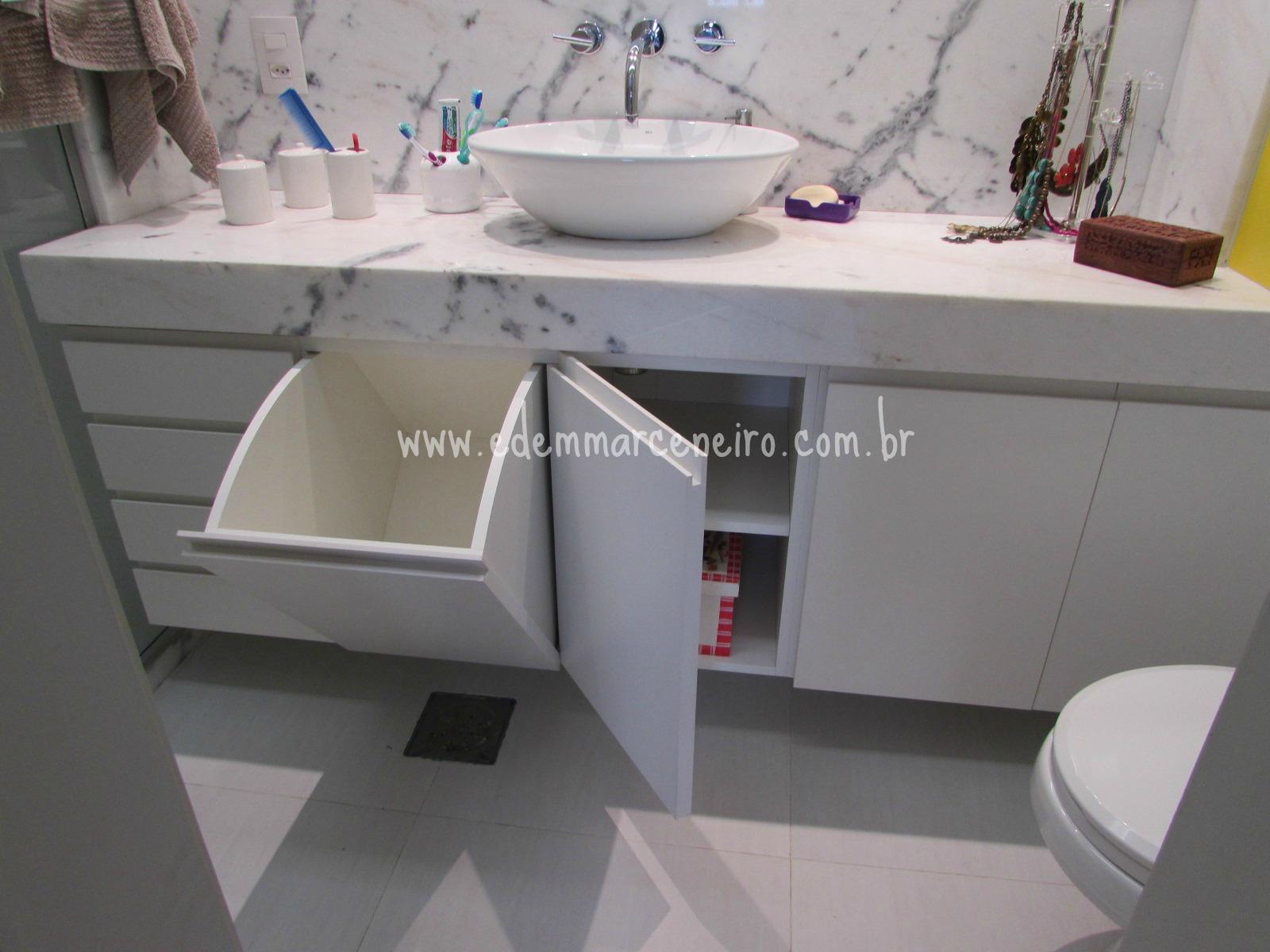 Móvel de Banheiro e uma solução inteligente  Edem Marceneiro -> Armario De Banheiro Feito Por Marceneiro