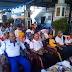 Danramil Tegal Selatan mengikuti Monitoring Wajah Kota bersama Walikota Tegal