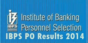 IBPS PO Results 2014 Declared