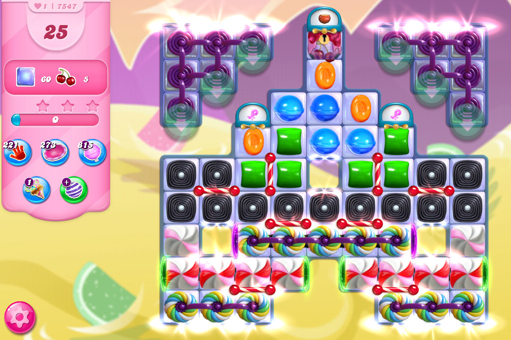 Candy Crush Saga level 7547