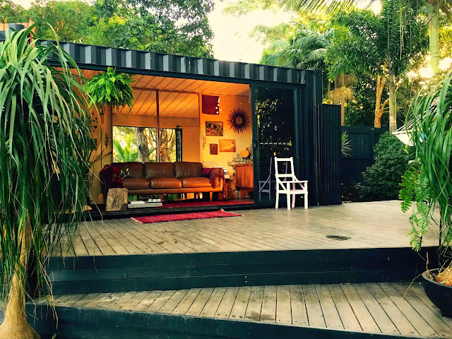 20 ft Small and Cozy Shipping Container House, NSW, Australia 18