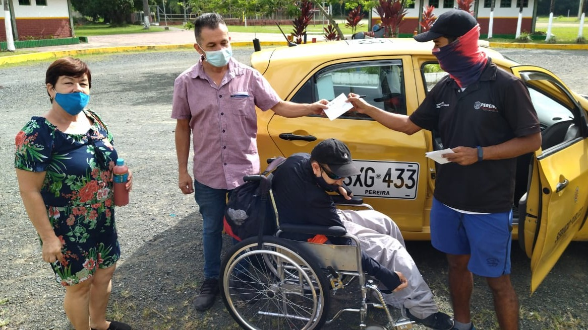 Las personas con discapacidad ya cuentan con transporte gratuito para llegar al Parque Metropolitano del Café