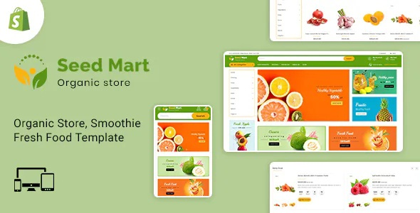 Best Shopify Food & Grocery Store